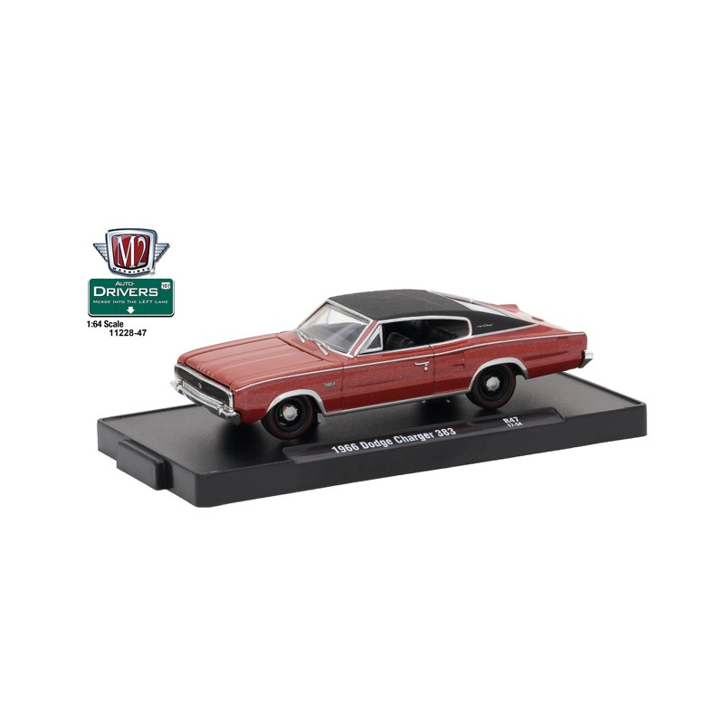 M2 Machines Drivers Release 47 1966 Dodge Charger 383