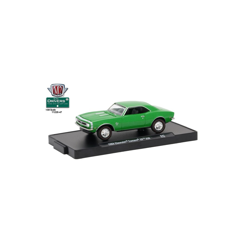M2 Machines Drivers Release 47 1968 Chevy Camaro Ss 350 1966 Chevrolet