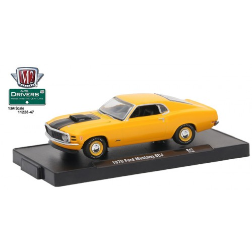 Drivers Release 47 - 1970 Ford Mustang 428 SCJ