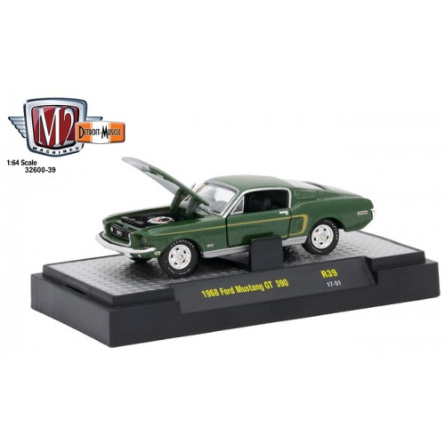 Detroit Muscle Release 39 - 1968 Ford Mustang GT 390