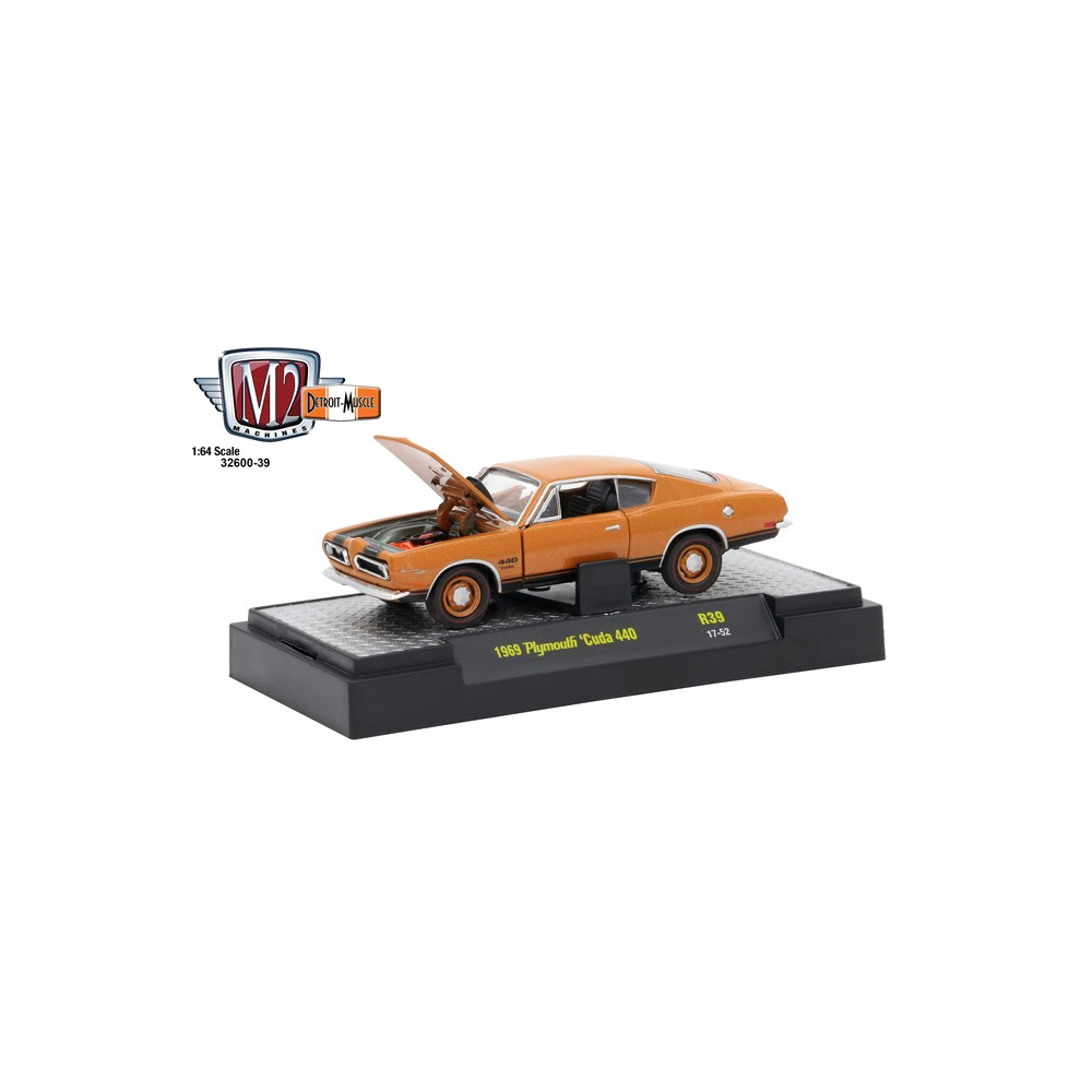 Detroit Muscle Release 39 - 1969 Plymouth Cuda 440
