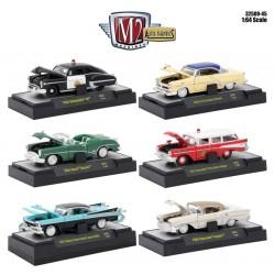 Auto-Thentics Release 45 - Six Car Set