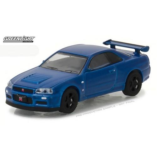 Tokyo Torque Series 1 - 2002 Nissan Skyline GT-R R34
