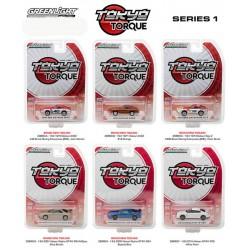 Tokyo Torque Series 1 - Six Car Set
