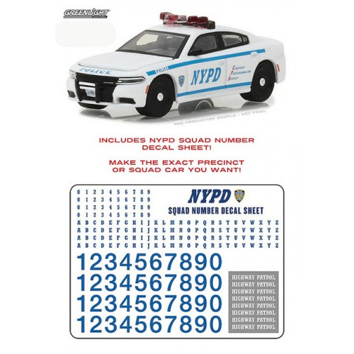 Hobby Exclusive - 2017 Dodge Charger Pursuit NYPD