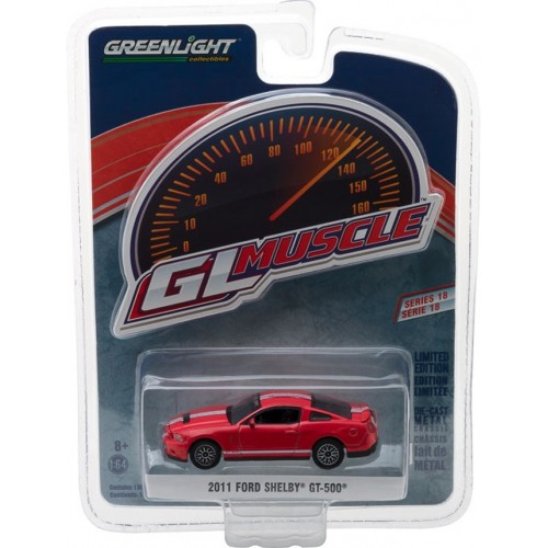 GL Muscle Series 18 - 2011 Ford Shelby GT-500