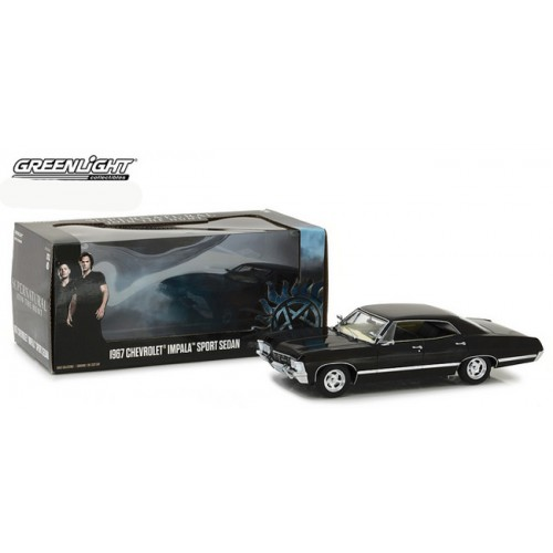 Greenlight Hollywood Series - 1967 Chevrolet Impala Sport Sedan Supernatural