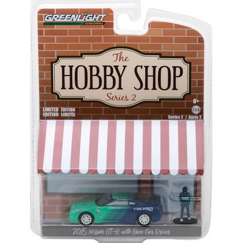 The Hobby Shop Series 2 - 2015 Nissan GT-R Falken Tires