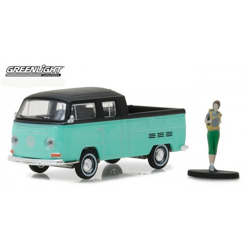 The Hobby Shop Series 2 - Volkswagen Type 2 Crew Cab Pick-Up