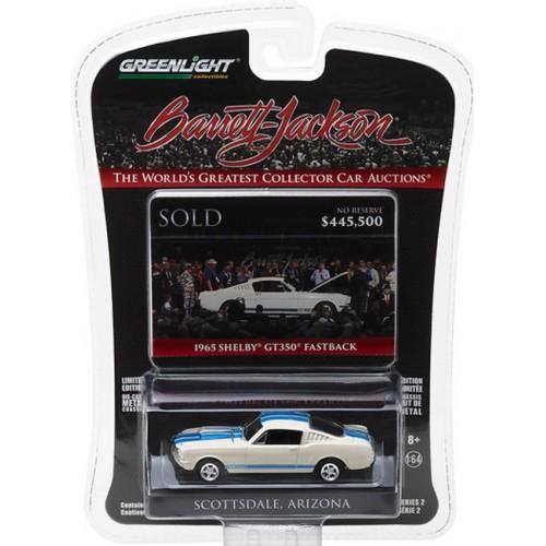 Barrett-Jackson Series 2 - 1965 Shelby GT350 Fastback