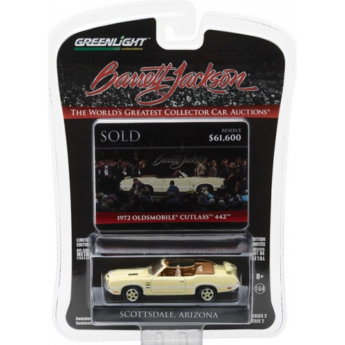 Barrett-Jackson Series 2 - 1972 Oldsmobile 442 'Bada Bing'