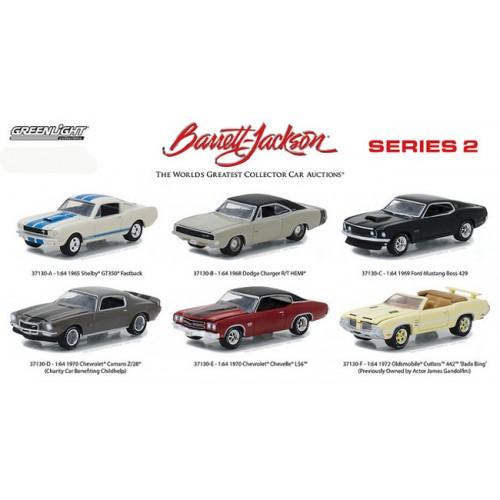 Barrett-Jackson Series 2 - Six Car Set