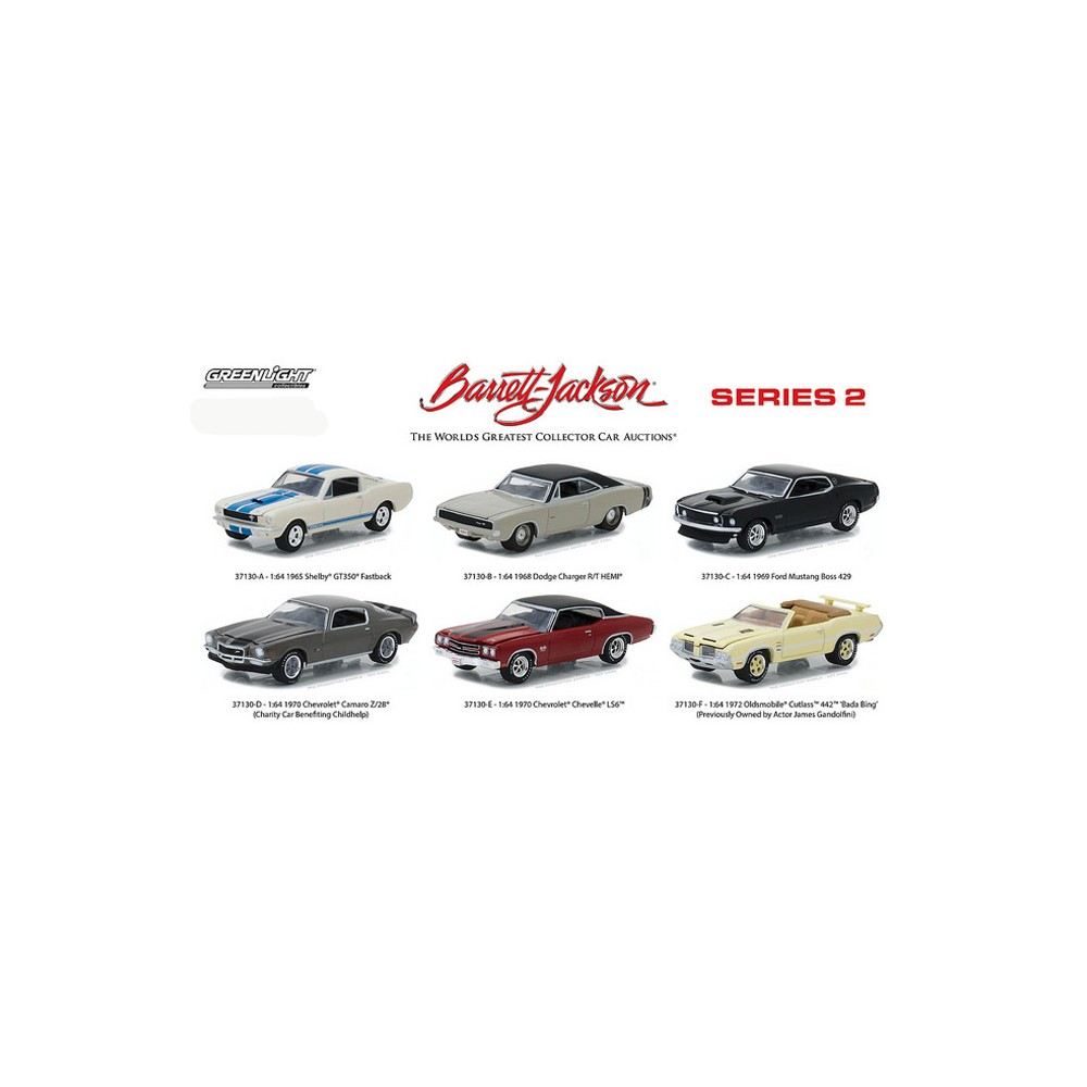 Barrett-Jackson Series 2 - Six Car Set