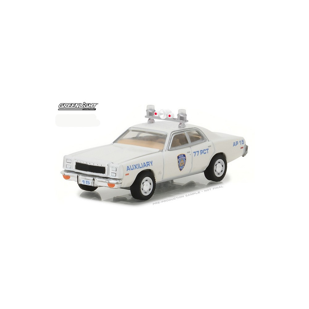 Hot Pursuit Series 25 - 1977 Plymouth Fury NYPD Auxiliary