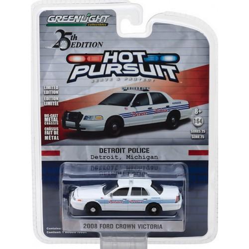 Hot Pursuit Series 25 - 2008 Ford Crown Victoria Police Interceptor Detroit