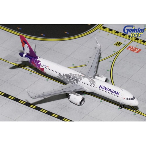 Gemini Jets Airbus A321neo Hawaiian Airlines