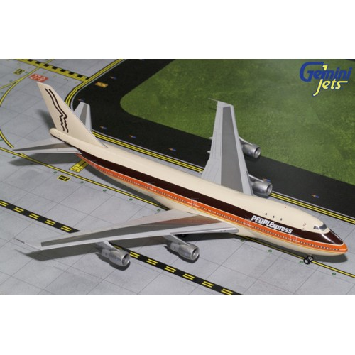Gemini Jets Boeing 747-100 PEOPLExpress
