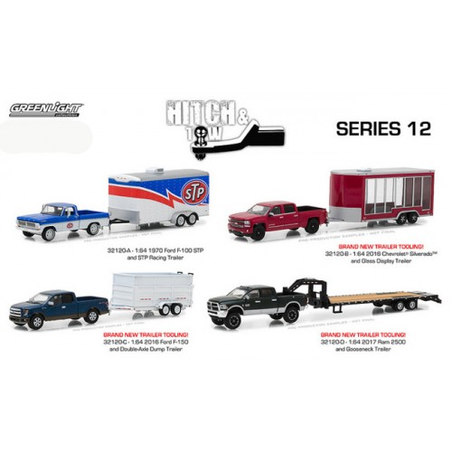 Hitch and Tow Series 12 - SET