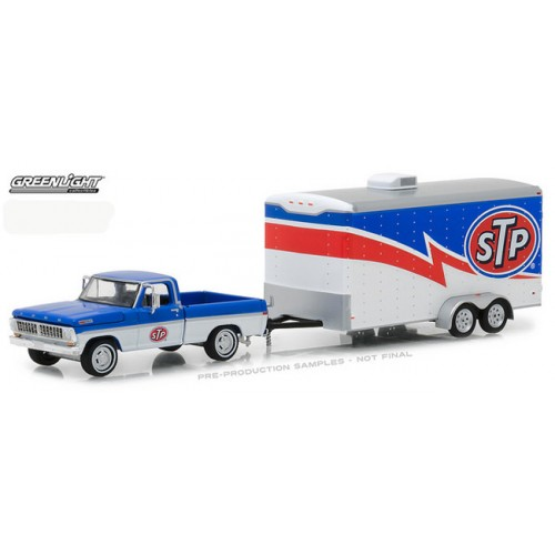 Hitch and Tow Series 12 - 1970 Ford F-100 and STP Racing Trailer
