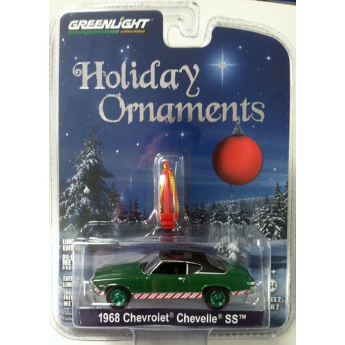 Holiday Ornaments 2017 Series 2 - 1968 Chevy Chevelle SS Green Machine