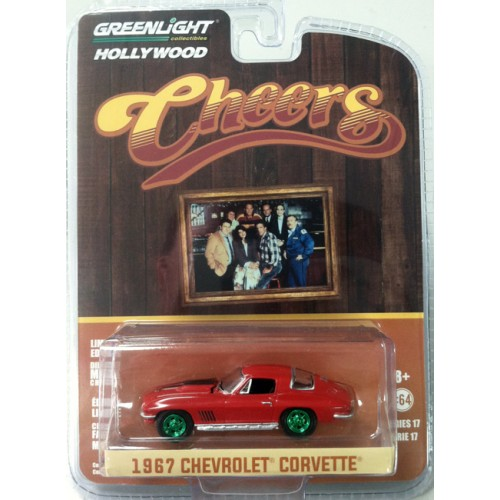 Hollywood Series 17 - 1967 Chevrolet Corvette Green Machine