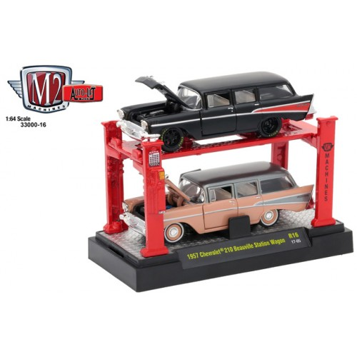Auto-Lifts Release 16 - 1957 Chevy 210 Beauville Station Wagon Set
