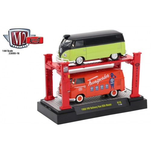 Auto-Lifts Release 16 - 1960 Volkswagen Delivery Van Set
