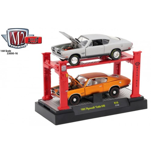 Auto-Lifts Release 16 - 1969 Plymouth Cuda 440 Set