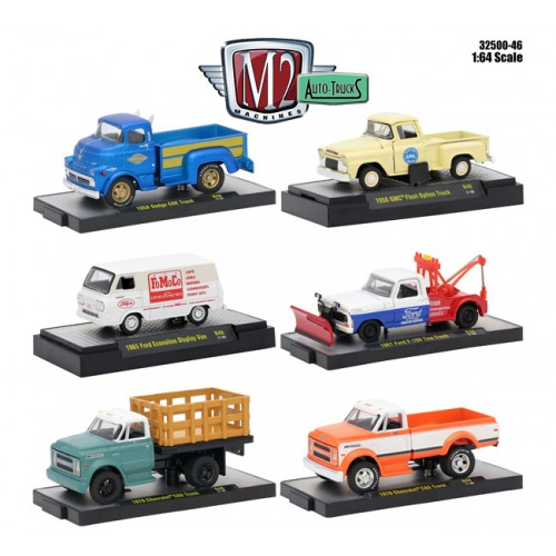 Auto-Trucks Release 46 - Six Truck Set