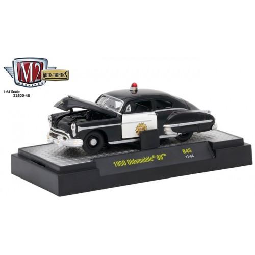 Auto-Thentics Release 45 - 1950 Oldsmobile 88 Police Car