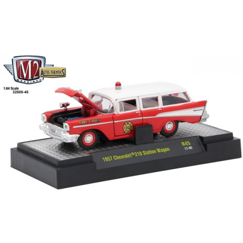 Auto-Thentics Release 45 - 1957 Chevy 210 Station Wagon Fire Chief