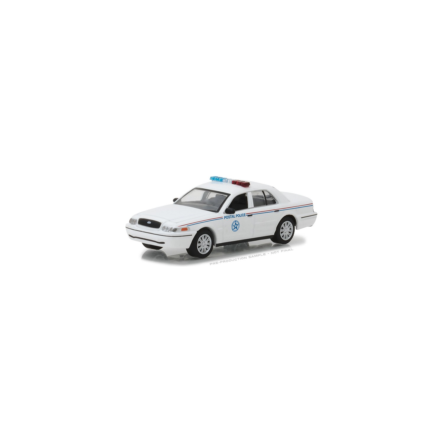 Greenlight Collectibles Hot Pursuit Police Cars Series Troys Toys 1949 Ford Crown Victoria Hobby Exclusive 2010 Interceptor United States Postal Service