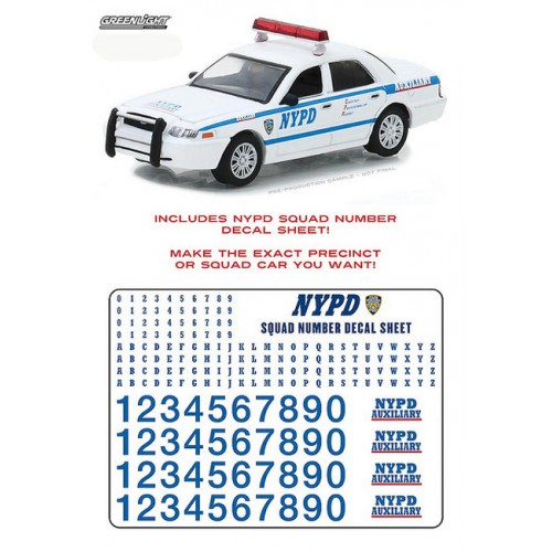 Hobby Exclusive - 2011 Ford Police Interceptor NYPD Auxiliary