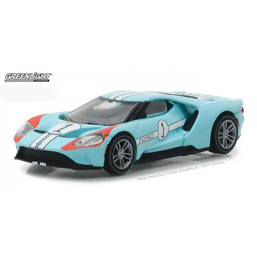 Heritage Racing Series 1 - 2017 Ford GT 1 in Blue