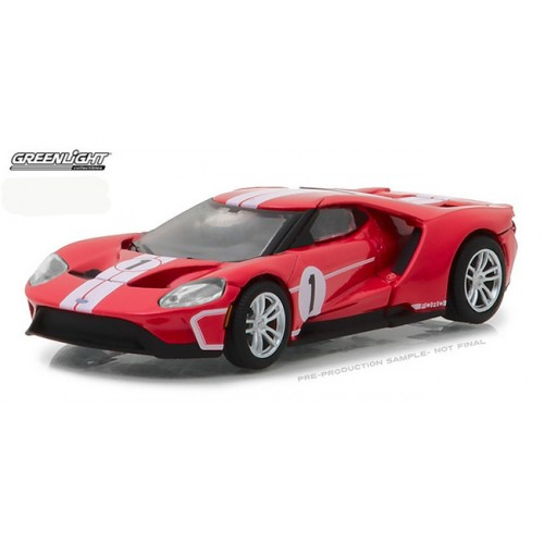 Heritage Racing Series 1 - 2017 Ford GT 1 in Red