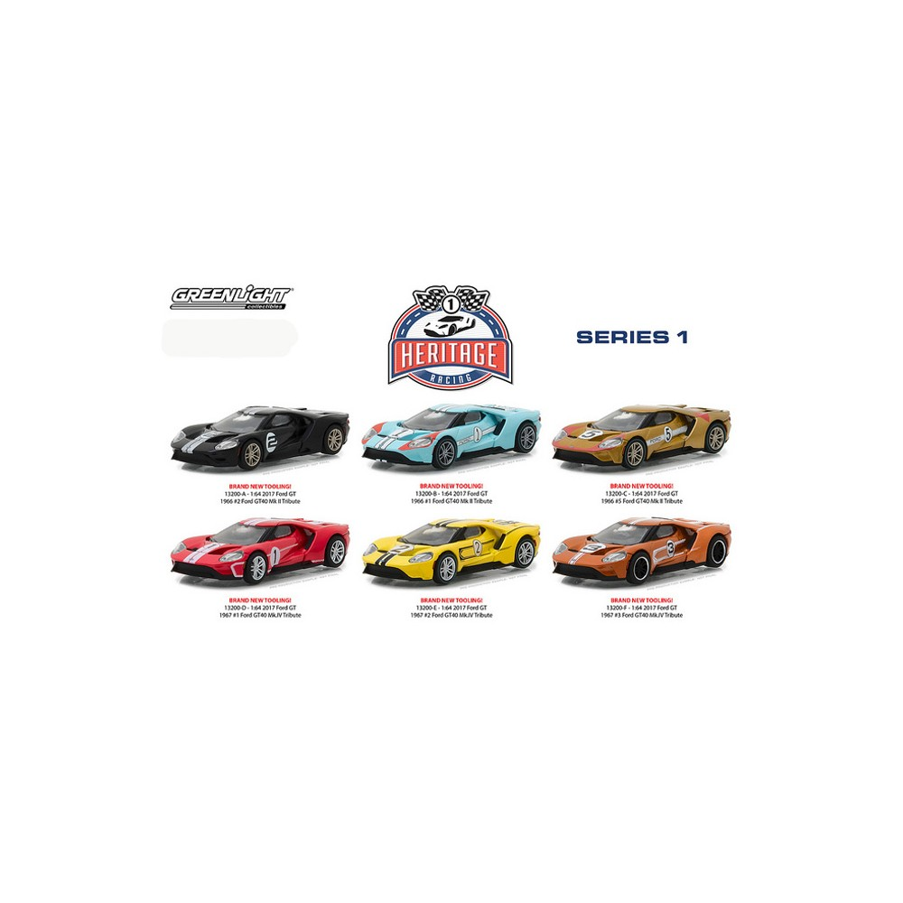 Heritage Racing Series 1 - Six Car Set