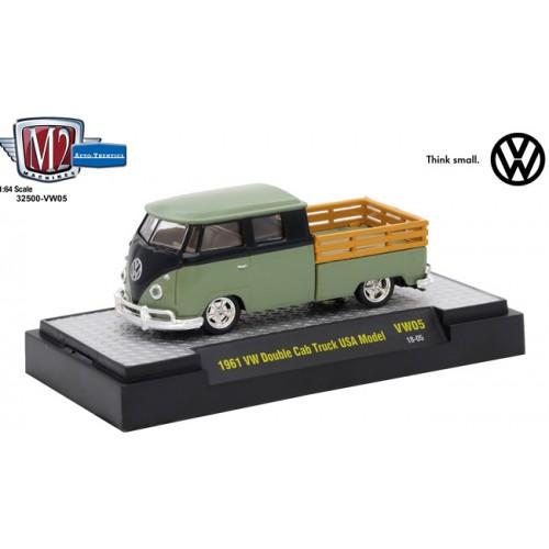 Volkswagen Release 5 - 1961 Volkswagen Double Cab Truck