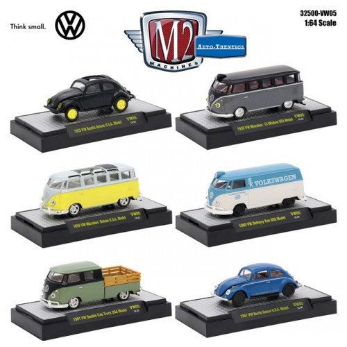 Volkswagen Release 5 - Six Car Set