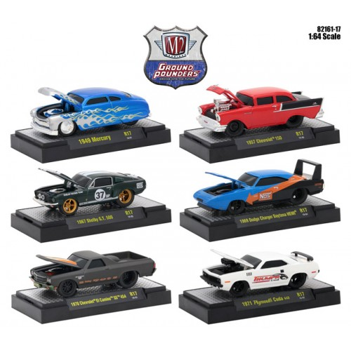 Ground Pounders Release 17 - Six Car Set