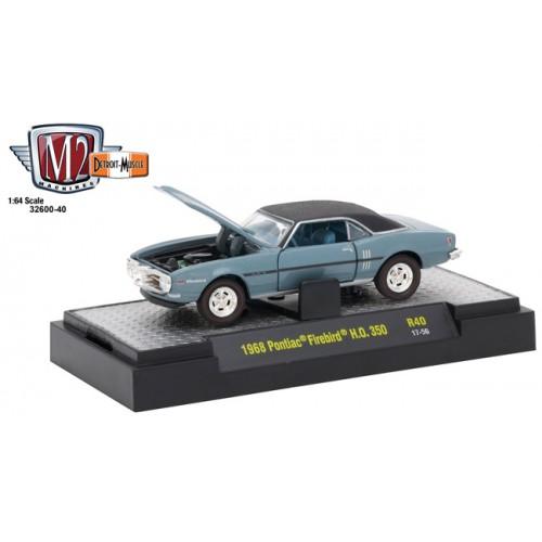 Detroit Muscle Release 40 - 1968 Pontiac Firebird H.O. 350