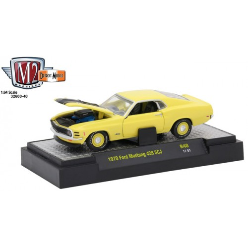 Detroit Muscle Release 40 - 1970 Ford Mustang 428 SCJ