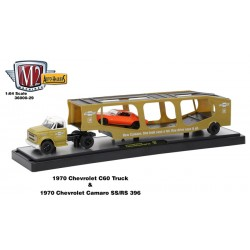 Auto-Haulers Release 29 - 1970 Chevrolet C60 with Car Carrier Trailer
