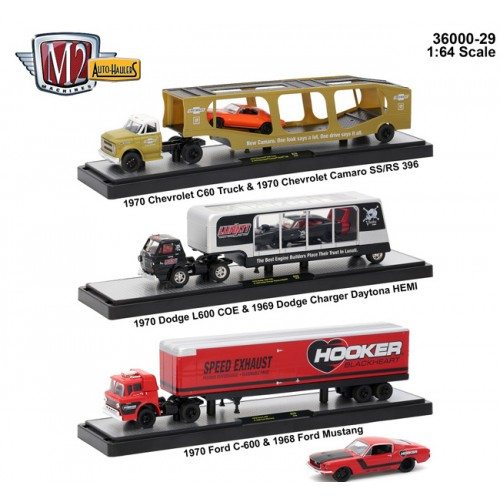 Auto-Haulers Release 29 - Three Truck Set