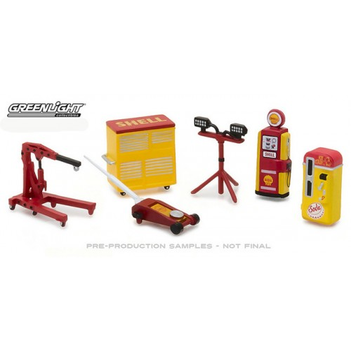 GL Muscle Shop Tools Series 2 - Shell Oil