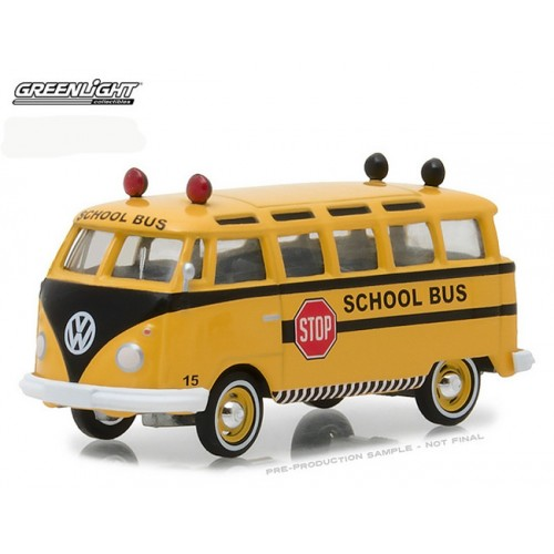 Club V-Dub Series 6 - 1964  Volkswagen Samba School Bus