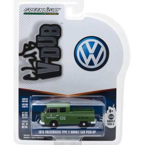 Club Vee-Dub Series 6 - 1975 Volkswagen Type 2 Double Cab Truck