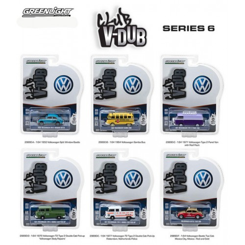 Club Vee-Dub Series 6 - Six Car Set