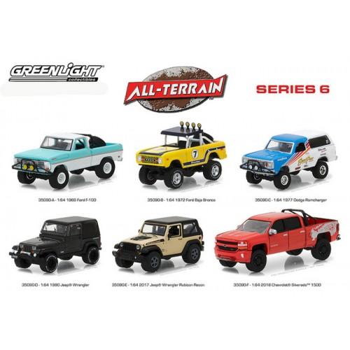 All-Terrain Series 6 - Six Truck Set