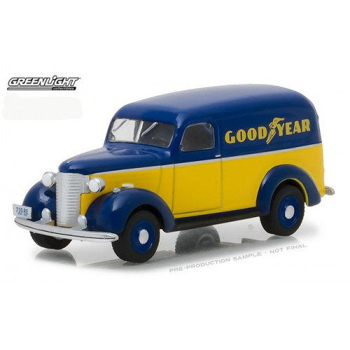 Running on Empty Series 4 - 1939 Chevrolet Panel Truck Goodyear Tires