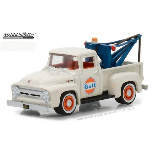 Running on Empty Series 4 - 1956 Ford F-100 Tow Truck Gulf Oil